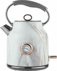 Witte Tower Retro Waterkoker 1.7 Liter Bottega Rose Gold Marmer