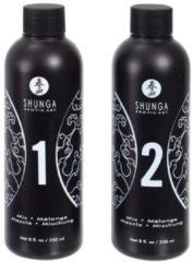 Transparante Shunga - Massage Gel Aardbei & Champagne