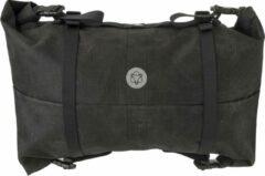 Zilveren AGU Venture Stuurtas Zwart - 17 L - HIVIS - Bikepacking - Bikepacking