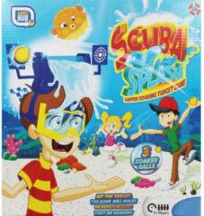 Grafix waterspeelgoed Scuba Splash junior blauw/geel 5-delig