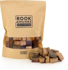 Smokin' Flavours | Rookchunks | Rode wijnvaten | 1 KG | Rookhout
