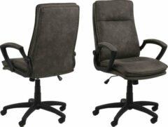 Fyn Brum kantoorstoel grijs.
