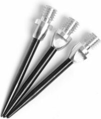 Harrows Darts Harrows Steeltip Reservepunten Aluminium 2BA - 3 Stuks - Zwart