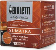 Bialetti Sumatra Koffiecups - 8 x 12 stuks