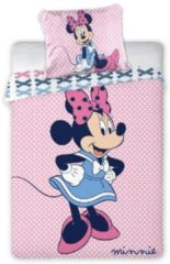 Roze Faro Disney - Minnie Mouse baby dekbedovertrekje 100 x 135 cm