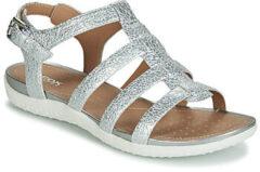 Zilveren Sandalen Geox D SANDAL VEGA