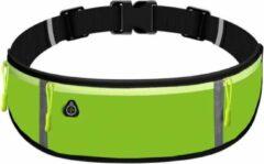 Marjaqe Sport Heupband - Hardloopband Telefoon - Sportband - Hardloop Riem - Heuptas - Unisex/Onesize - Running belt - Groen