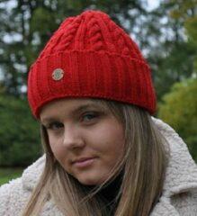 Piri Sport Hats & Co beanie voor de moderne vrouw - kleur brique rood