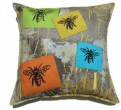 ECO COLLECTION Sierkussen Bijen. Fairtrade & Handgemaakt