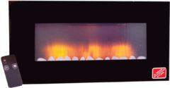 Classic Fire sfeerhaard Vancouver - 2000W - LED - met afstandsbediening - realistische vuurgloed