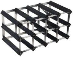 Zwarte RTA - 12 Btl 4X2 Black Ash Pine / Galv Steel Assembled