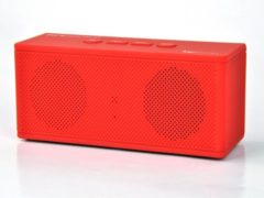 Rode Pure Acoustics HIPBOXMINIRED Portable bluetooth speaker met radio