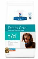 3 x 3 kg Hill's Prescription Diet Canine - T/D Dental Care Mini Hondenvoer - Voordeelpakket