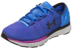 Charged Bandit 3 Laufschuh Damen Under Armour ultra blue / purple rave / black