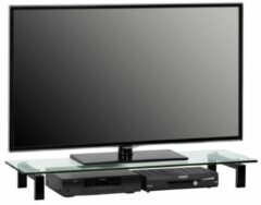 Zwarte Bermeo Impala Tv meubel 110 cm - Zwart