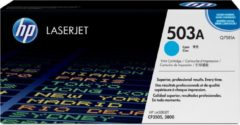 Blauwe HP Printcassette HP Q7581A 503A