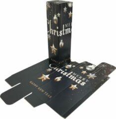 "Presentdoosjes.nl Presentdoosje Wijndozen ""Feestset"": 8 x 8 x 30cm (10 stuks)"