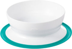 Blauwgroene Oxo Tot Stick & Stay Bowl / Schaaltje Teal