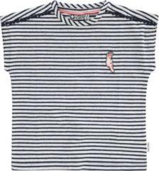 Tumble n Dry Tumble 'n dry Meisjes T-shirt Cascade - Mood Indigo - Maat 104
