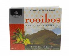 Jacob Hooy Rooibosthee Sakkies (80st)