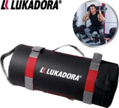 Rode Lukadora Power Bag 10 kg - Train thuis met uitdagende HIT-circuits