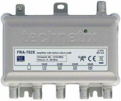 Witte Technetix Antenneversterker FRA -752X 4-weg Ziggo geschikt geschikt 1218Mhz
