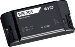 WHD WR 205 WLAN-Audioempfänger mit Stereo-Verstärker und 230V-Netzteil, schwarz