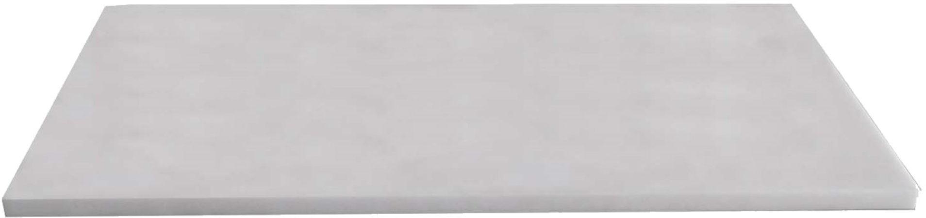 Afbeelding van Sanilux Meubelblad wit Marmer 100 cm