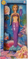 Tom Tienerpop zeemeermin 30 cm paars