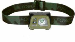 Fosco Hoofdlamp Tactical groen
