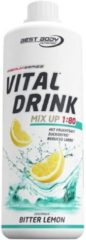 Best Body Nutrition Low Carb Vital Drink 1000ml Bitter Lemon