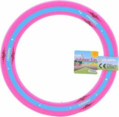 Johntoy Outdoor Fun Frisbee Roze