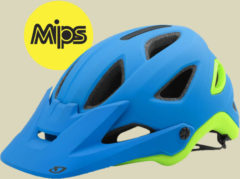 Giro Montaro Mips Herren Fahrradhelm Kopfumfang S 51-55 cm matte blue/lime