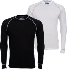 Witte Craft Be Active Multi Longsleeve - Thermoshirt - Heren - XL - Wit;Zwart