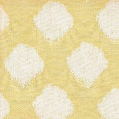 Acrisol Hilas Amarillo 123 geel, creme, wit gestipt stof per meter buitenstoffen, tuinkussens, palletkussens