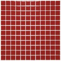 Mozaiek Barcelona Vierkant Rood 2,3x2,3
