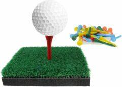 Mlc Golf tees 54 mm 100 stuks Hout Multicolor