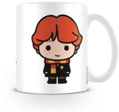 Witte HARRY POTTER - Mug - 300 ml - Kawaii Ron Weasley
