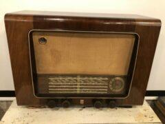 Beige PHILPS Xvaudio vintage Bluetooth radio (3)