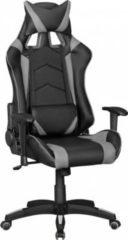 AMSTYLE ® Bürostuhl SCORE Leder-Optik Schwarz / Grau Schreibtischstuhl Chefsessel Gaming Chair Drehstuhl Sport Racing Optik