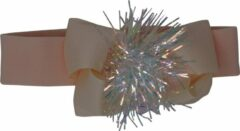 Jessidress Baby Haarband Elegante Hoofdband met haarstrik - Lichte Oranje
