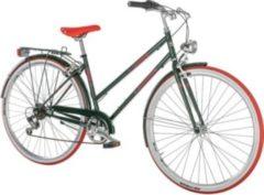 28 Zoll Damen City Fahrrad 6 Gang Alpina Liceo... dunkelgrün