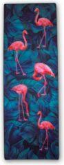 Charly's Choice Yoga handdoek - 174 x 62 cm – flamingo