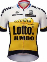 Santini Lotto Jumbo Original Short Sleeve Jersey No color - Maat M