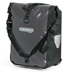 Ortlieb - Sport-Roller Classic - Bagagedragertas maat 12,5 l, zwart/grijs