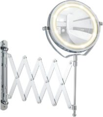 Douche Concurrent Cosmeticaspiegel Wenko Turbolock 11cm Geintegreerde LED Verlichting