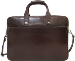 "Bruine Claudio Ferrici Legacy Business Briefcase 15.6"" Brown"