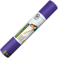 Fitness-Mad MADFitness - Warrior Yoga II Mat - Phthalaatvrij PVC - Dikte 4mm - Paars