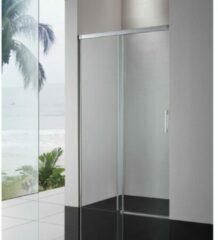 Royal Plaza Sway softclose schuifdeur 160x200cm zilver glans-helder clean 49254