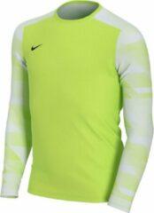 Nike Park IV Sportshirt - Maat M - Unisex - neon geel/wit Maat M-140/152